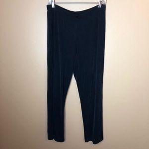 Chicos travelers women's pants 3 black acetate